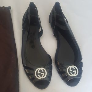 100% Authentic Gucci Jelly Sandals